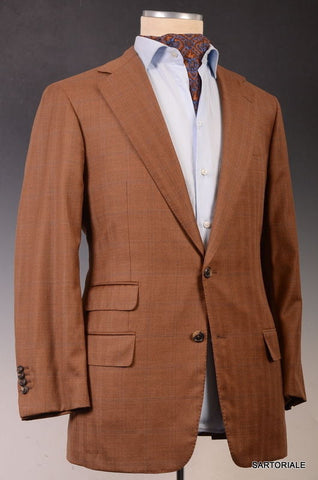 JAY KOS New York Rust Plaid Light Wool Jacket Blazer EU 52 NEW 40 42 - SARTORIALE - 1