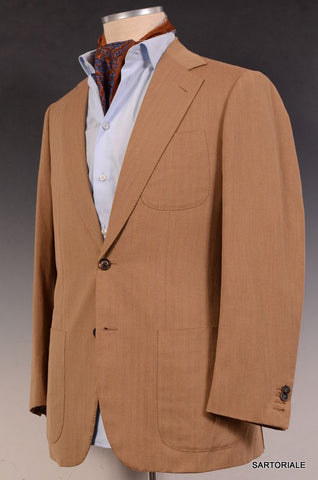 JAY KOS New York Tan Solaro Wool-Mohair Blazer Jacket EU 48 NEW US 38 - SARTORIALE - 1