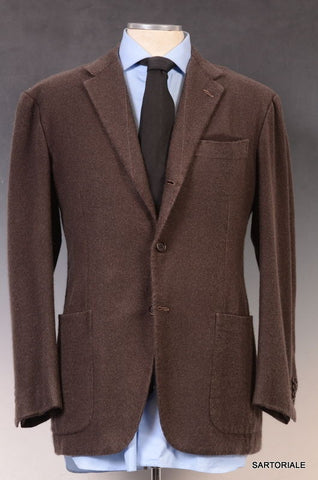"KITON Napoli Hand Made ""Washed"" Cashmere Soft Jacket US 38 40 Short NEW EU 50 - SARTORIALE - 1"