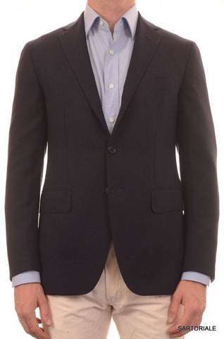 Sartoria PARTENOPEA Hand Made Solid Navy Blue Mohair Jacket NEW - SARTORIALE - 2