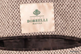 LUIGI BORRELLI Napoli Gray Wool Slim Over Coat EU 50 NEW US 38 - SARTORIALE - 6