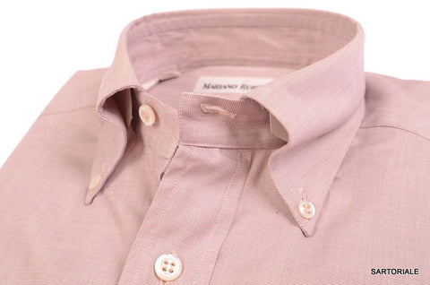 RUBINACCI Napoli Solid Mallow Cotton Button-Down Dress Shirt NEW Regular Fit - SARTORIALE - 2