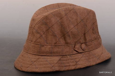 "RUBINACCI London House by Herbert Johnson UK Wool Tweed ""Humphrey"" Hat 7 1/8-58 - SARTORIALE - 2"