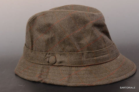 "RUBINACCI London House by Herbert Johnson UK Wool Tweed ""Humphrey"" Hat 7-57 - SARTORIALE - 1"