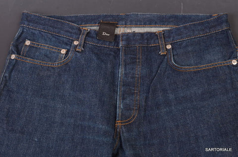 DIOR HOMME Denim Blue Jeans Pants Made In Japan US 33 PI3 - SARTORIALE - 3
