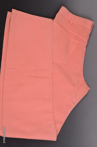 RUBINACCI by Incotex Napoli Pink Cotton Jeans Pants 46 NEW 30 Straight Fit - SARTORIALE - 1