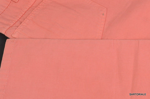 RUBINACCI by Incotex Napoli Pink Cotton Jeans Pants 46 NEW 30 Straight Fit - SARTORIALE - 2