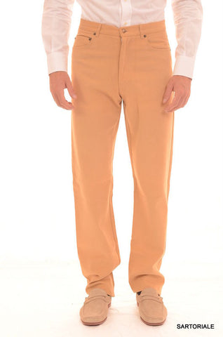 RUBINACCI Napoli Beige Cotton Jeans Pants EU 46 NEW US 30 Straight, Classic Fit - SARTORIALE - 1