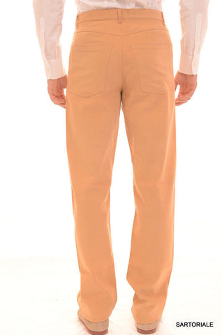 RUBINACCI Napoli Beige Cotton Jeans Pants EU 46 NEW US 30 Straight, Classic Fit - SARTORIALE - 2