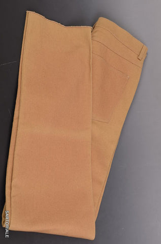 RUBINACCI Napoli Brown Cotton Jeans Pants EU 46 NEW US 30 Straight Classic Fit - SARTORIALE - 1