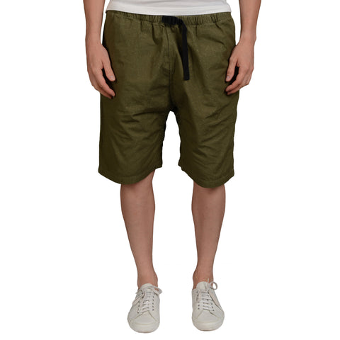 or Slow Olive Green Cotton Hiking Shorts NEW US L