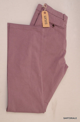 UNIS Made In USA Mallow Cotton Slim Fit Chino Pants NEW 33 - SARTORIALE - 1