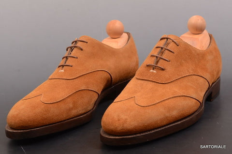 "RUBINACCI Napoli ""Oxford"" Brown Suede Casual Dress Shoes EU 41 NEW US 8 - SARTORIALE - 1"