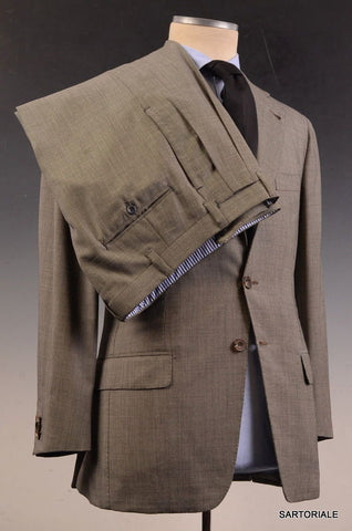 RUBINACCI LH Hand Made London House Bespoke Gray Wool Business Suit 48 NEW 36 38 - SARTORIALE - 4