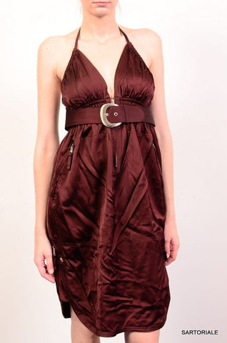 JEAN PAUL GAULTIER Burgundy Dress FR 38 NEW US 8 / M - SARTORIALE - 1