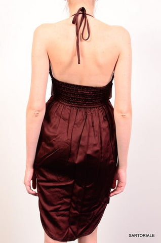 JEAN PAUL GAULTIER Burgundy Dress FR 38 NEW US 8 / M - SARTORIALE - 3