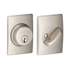 Schlage Single Cylinder Deadbolt with Century Trim