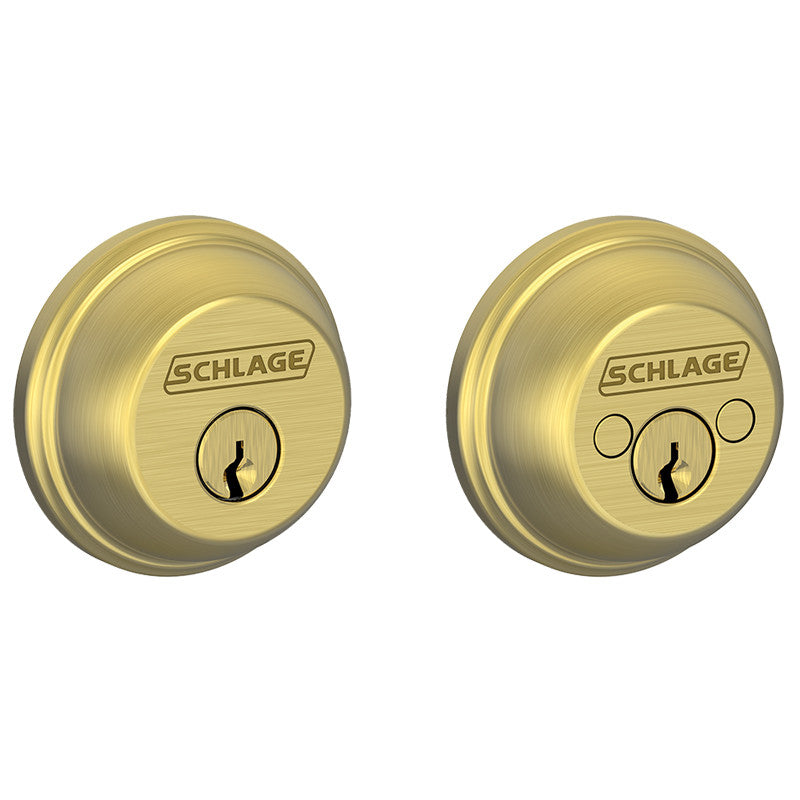 Schlage Double Cylinder Deadbolt Jrd Supply Inc
