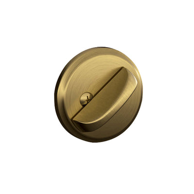Schlage One-Sided Deadbolt with Exterior Plate