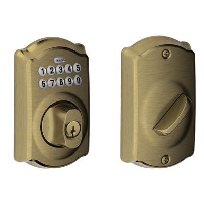 Schlage Keypad Deadbolt (Fire Rated)
