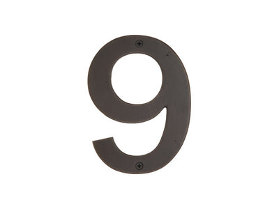 "6"" Bronze House Numbers"