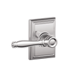 Birmingham Passage Lever with Addison Decorative Trim