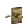 Accent Dummy Lever with Addison Decorative Trim