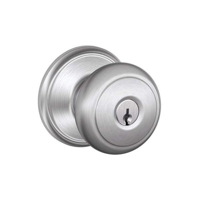 Schlage Andover Keyed Entrance Knob