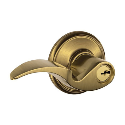 Schlage Avanti Keyed Entrance Leverset