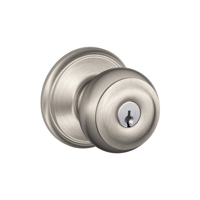 Schlage Georgian Keyed (Storeroom) Entrance Knob