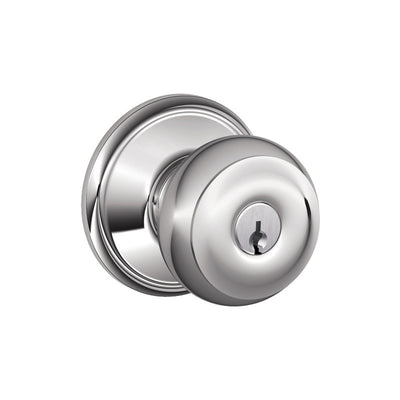 Schlage Georgian Keyed Entrance Knob