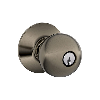 Schlage Orbit Keyed Entrance Knob