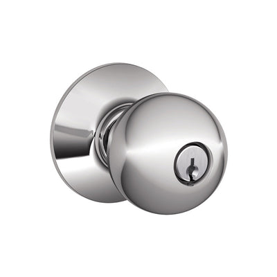 Schlage Orbit Keyed (Storeroom) Entrance Knob