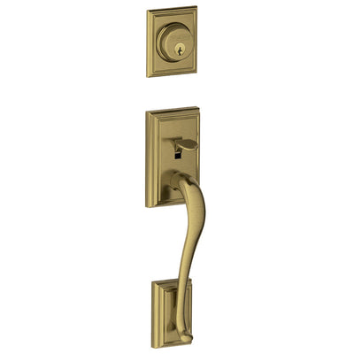 Schlage Addison Front Entry Handleset (Exterior Trim Only)