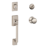 Schlage Century Front Entry Handleset with Plymouth Knob