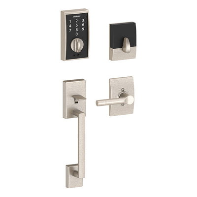 Schlage Touch Entry Handleset - Century (CEN) Style with Broadway (BRW) Lever