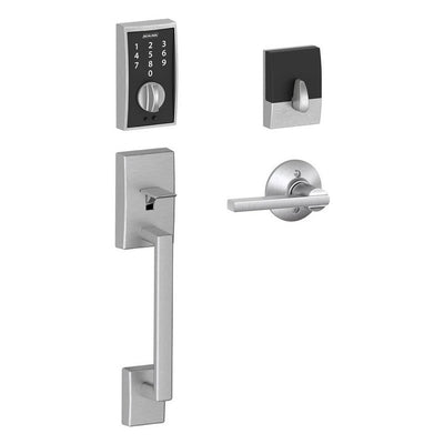 Schlage Touch Entry Handleset - Century (CEN) Style with Latitude (LAT) Lever