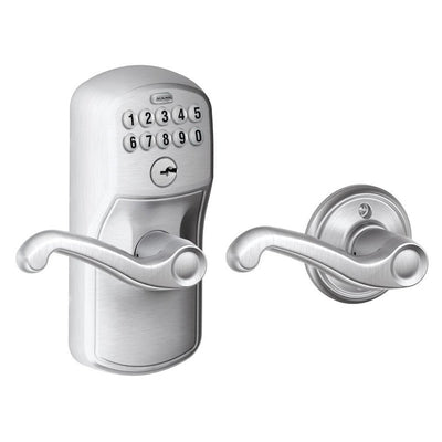 Schlage Keypad Entry Lever/Knobset (Auto-Lock)