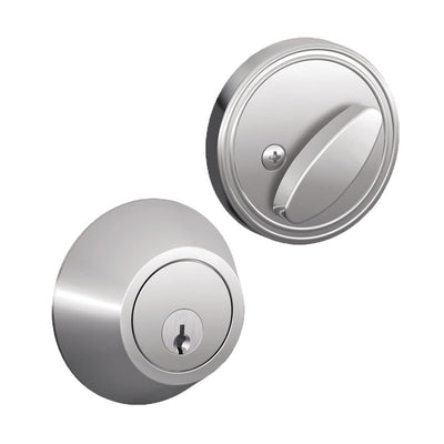Schlage J-Series Single Cylinder Deadbolt