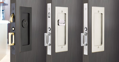 Modern Rectangular Pocket Door Mortise