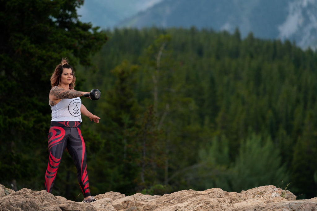 Sweat Society Amber Pressley CrossFit Calgary Fitness Ethical Activewear