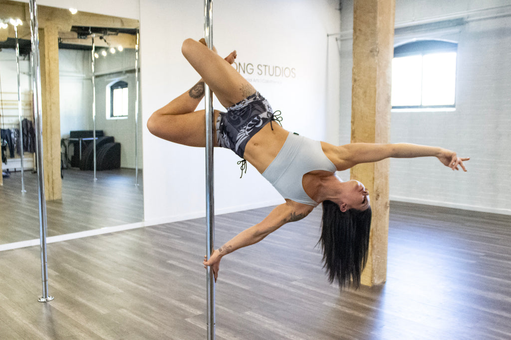 Jenna May - YYC pole and aerial dancer - Sweat Society