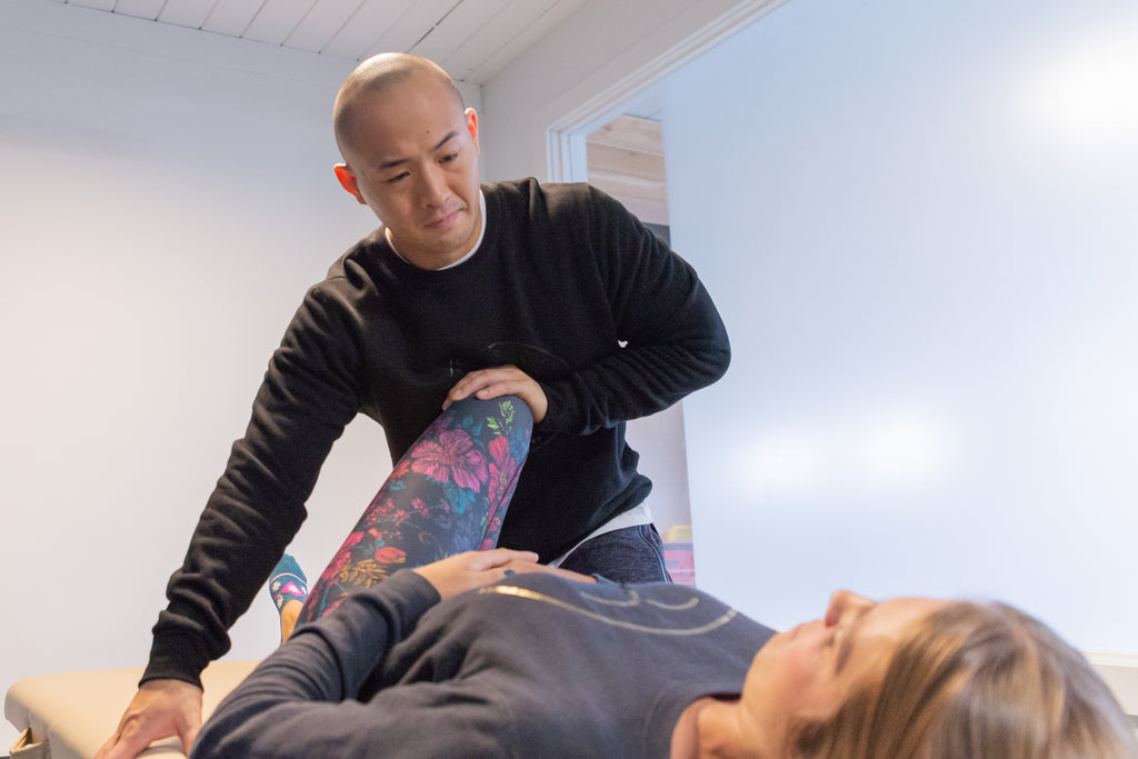 Colby Leong. Dynamic YYC. Chiropractor. Men's Sweat Society Activewear