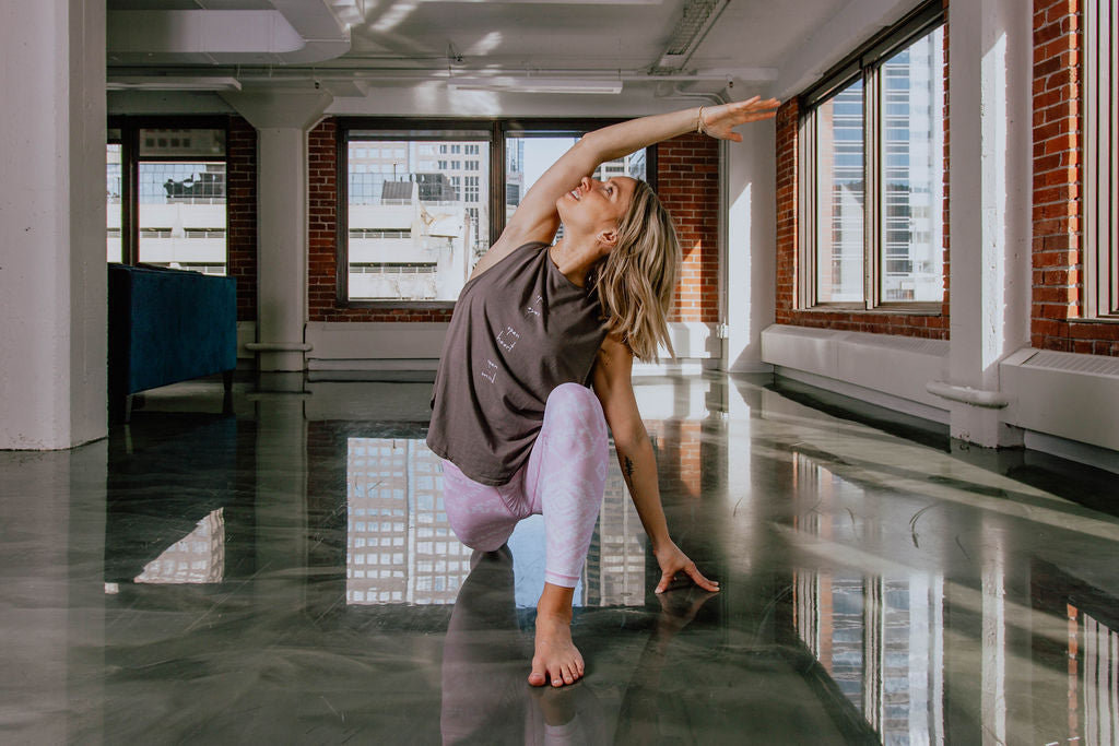 Megan Merriam Calgary Yoga Teacher Sweat Society