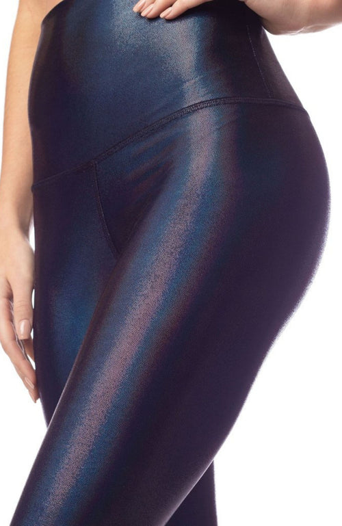Black Highwaisted Sparkle Women's Legging