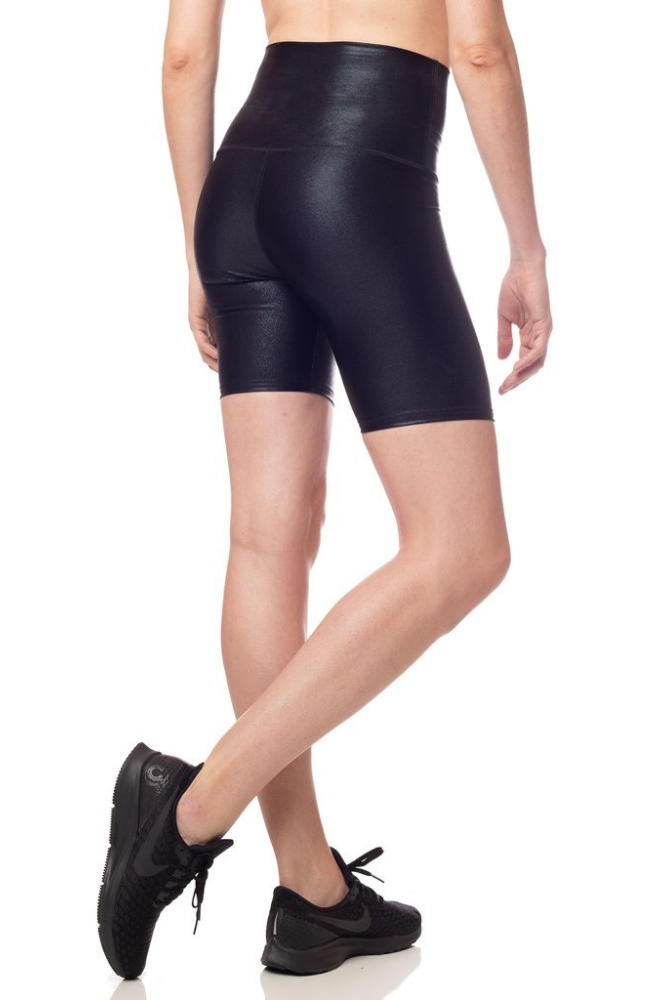 Emily Hsu Jet Shimmer Bike Short Sweat Society Activewear Canada USA
