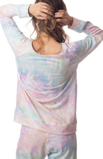 Women's Pastel Tie Dye Sweatshirt - Ethically made in the USA