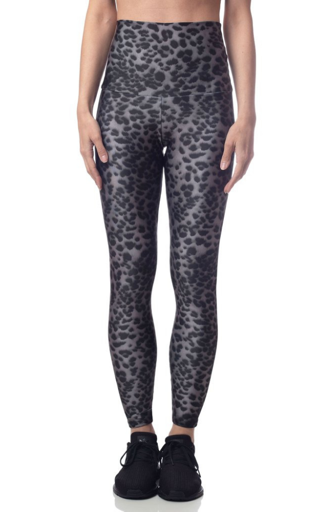 Emily Hsu Snow Leopard Sweat Society Activewear Canada USA