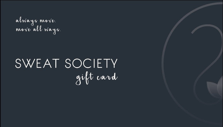 Sweat Society Gift Card