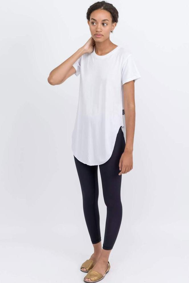 Bamboo Johnny Tee - White